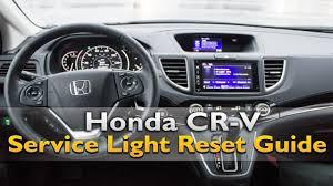 Honda Crv Service Lights Honda Crv Service Light Reset