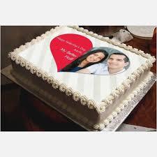 Anniversary Cake With Photo Frame Birthdaycakeformomcf