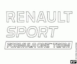Kleurplaten F1 Formule 1 Vlaggen Emblemen En Logos Kleurplaat