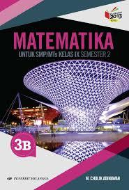 Artikel soal matematika kelas 7 smp mts tahun 2020 2021 semester 1 2 lengkap pg atau essay lengkap kunci jawaban pelajaran matematika. Buku Erlangga Kurikulum 2013 Smp