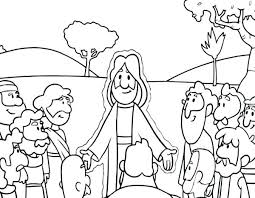 Jesus Calms Storm Coloring Pages Free Printable The Easter Page With