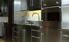 Stainless Steel Kitchen Furniture Furniture Awesome Steel Kitchen Cabinets Inspiration Stainless