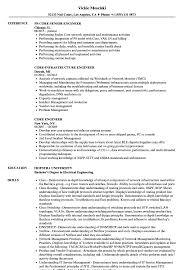 Core Engineer Resume Samples Velvet Jobs