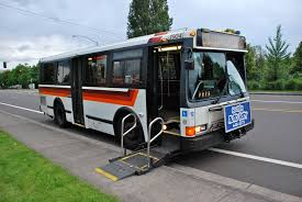 wheelchair lift bus. Simple Lift File30foot Flxible Metro Bus TriMet 1904 With Wheelchair Lift Deployed On Wheelchair Lift Bus B