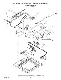 parts for amana washing machine best washing machines 02 controls and water inlet parts parts for amana washer ntw4630yq0 from appliancepartspros · front loading washing machine parts location diagram
