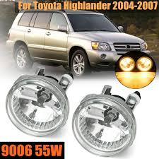 2006 Toyota Highlander Fog Light Kit Us 15 49 7 Off For Toyota Highlander 2004 2005 2006 2007pair Left And Right Front Clear Bumper Driving Fog Lights In Car Light Assembly From