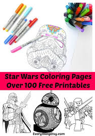 You can either color it on the pc itself and get it printed later or get the print first use and use your creativity to color it. 100 Free Printable Star Wars Coloring Pages For Adults And Kids Indie Crafts