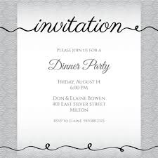 Dinner Invation Dinner Party Invitation Templates Free Greetings Island
