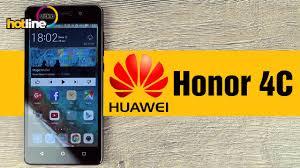 HUAWEI Honor 4C ‒ обзор смартфона - YouTube