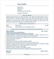 dental nurse cv example nursing cv template nurse resume examples sample registered resumes
