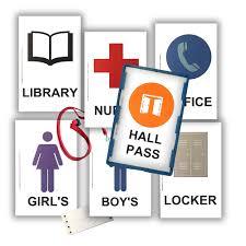 Hall Pass Elementary School Classroom