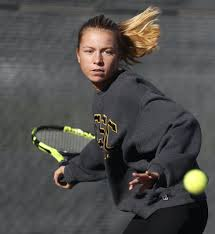 Meagan Brown's net results carry Elk River girls' tennis to state | Star  Tribune