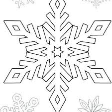 Snowflakes Printable Coloring Pages Snow Flake Coloring Pages