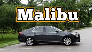 Regular Car Reviews: 2014 Chevrolet Malibu LT - YouTube