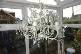 gorgeous laura ashley chandelier with 5 lights