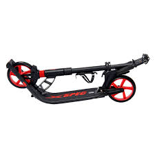 xspec 923 folding aluminum scooter kick outdoor push ride 200mm wheels 5