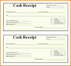 Examples Of Receipt Of Payment Examples Of Receipts 5 Blank Invoice