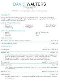 Contemporary Fine Arts Resume Sample Images Documentation Template