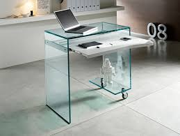 contemporary glass desks for home office best modern furniture