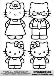 All our educational printables are for your personal use only. Hello Kitty Kitty With Grand Parents Coloring Page Kitty Coloring Hello Kitty Colouring Pages Hello Kitty Coloring