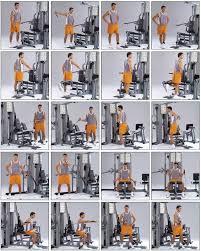Multi Gym Exercise Chart Home Multi Gym Workout Plan Pdf Anotherhackedlife Com