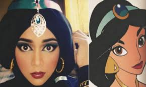 makeup artist gets creative transforms herself to cartoon characters