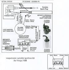 modern vespa vespatronic on a post 79 p125x