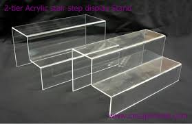 Acrylic Tiered Display Stands 100tier Acrylic Stair Step Display Stand Buy Acrylic Stair Step 28