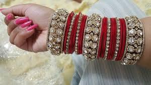 Bridal Bangle Set Designs Red Bridal Bangle Set Designs