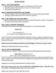 richard iii scheme of work week by week plan by johncallaghan richard iii scheme of work week by week plan by johncallaghan teaching resources tes