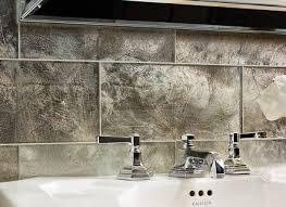 fine ann sacks glass tile backsplash and floor lucian metallics ann