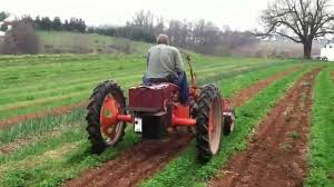 G Electric Electric Allis Chalmers G Cultivating Tractor Youtube