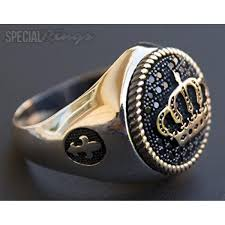 Silver Crown Designs Sterling Silver Men Ring Handmade Crown Of A King Custom Design Customization Ring Jewelry