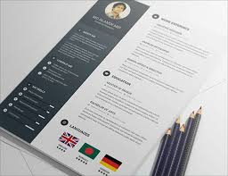 20 Best Free Resume (cv) Templates In Ai, Indesign & Psd Formats