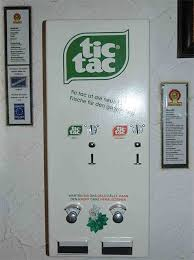 A Company Operates Vending Machines In Four Schools Beauteous Tic Tac Vending Machine Vending Machines Pinterest Vending