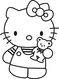When we make holidays like easter, halloween, thanksgiving and christmas etc. Free Coloring Pages For Kids Hello Kitty Coloring Sheet Hello Kitty Colouring Pages Hello Kitty Coloring Kitty Coloring