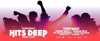 Tobymac Hits Deep Tour Merchandise Volunteer Lubbock Tx