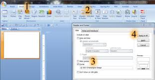 Design For Powerpoint 2007 How Do I Edit The Footer In My Powerpoint Template Once For All