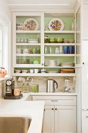 kitchen cabinets refaced decorative glass