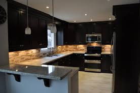 Pot Lights For Kitchen Distressed Kitchen Cabinets Black Black Appliances And White Or