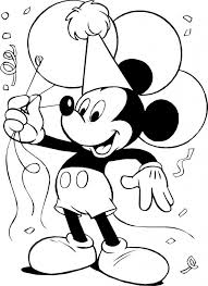Small Picture Mickey Mouse Color Pages Pictures 5761