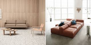 leather or fabric sofa choose the right