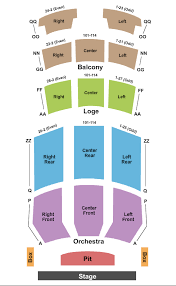 State Theatre Seating Chart Easton