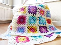 Basic Granny Square Pattern Stunning Rainbow Granny Square Blanket Haakmaarraaknl