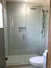 frameless shower door installation cost glass install within plans 14