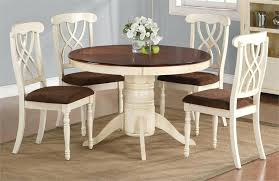 round kitchen table with 4 chairs interior and furniture design spacious kitchen table chairs in white