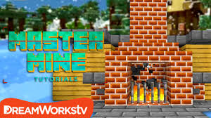 How To Make A Fireplace In Minecraft Pe  DactusFireplace In Minecraft