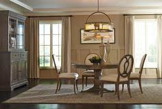 a r t furniture s st germain collection round dining table and oval back side chair