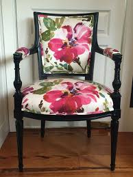 french chair upholstery ideas. choose your fabric placement carefully for the best look -- custom floral upholstery on a french chair by chairwhimsy etsy ideas c