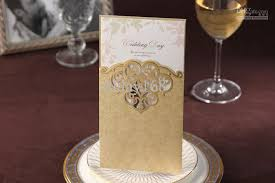 cw2002 gold hollow out invitation card wedding invitations come Elegance Wedding Cards Sri Lanka cw2002 gold hollow out invitation card wedding invitations come envelopes sealed card online with $59 34 piece on allday168's store dhgate com Sri Lankan Wedding Sarees